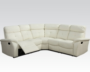 Acme Furniture Light Beige Sectional Sofa Lawrence AC51650