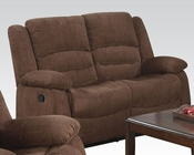 Acme Furniture Loveseat Bailey Dark Brown AC51026