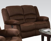 Acme Furniture Loveseat w/ Motion Bailey Chocolate AC51031