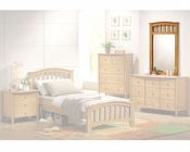 Acme Furniture Mirror in Maple AC08945