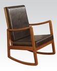 Acme Furniture Oak Rocking Chair AC59302