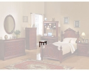 Acme Furniture Ottoman Bench in Cherry AC11882