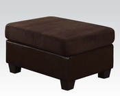 Acme Furniture Ottoman Connell Chocolate AC55977