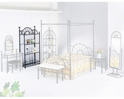 Acme Furniture Rack in Black AC02147