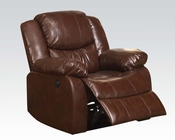 Acme Furniture Recliner Fullerton Brown AC50202
