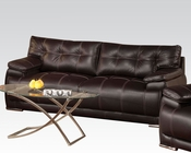 Acme Furniture Sofa in Espresso Terrence AC51740