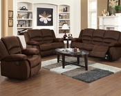 Acme Furniture Sofa Set Bailey Chocolate AC51030SET