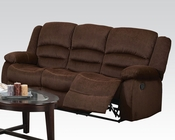 Acme Furniture Sofa w/ Motion Bailey Chocolate AC51030