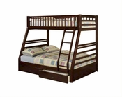 Acme Furniture Twin over Full Bunk Bed in Espresso Jason AC02020