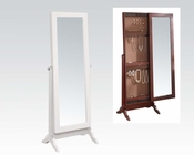 Acme Jewelry Armoire in White AC97120