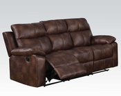 Acme Light Brown Sofa w/ Motion Dyson AC50815