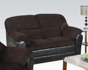 Acme Loveseat Connell Chocolate AC15976