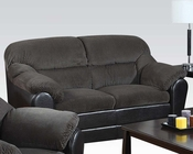 Acme Loveseat Connell Olive Gray AC15956
