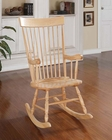 Acme Natural Finish Rocking Chair AC59299