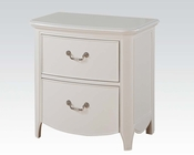 Acme Nightstand Cecilie White AC30323