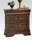 Acme Nightstand in Brown Cherry Hennessy AC19453