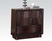 Acme Nightstand in Walnut Travell AC20523