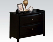 Acme Nightstand Manhattan Black AC14115