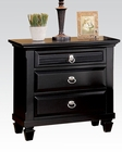 Acme Nightstand Merivale Black AC22443