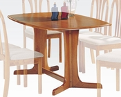 Acme Oak Finish Dining Table Stockholm AC02190TO