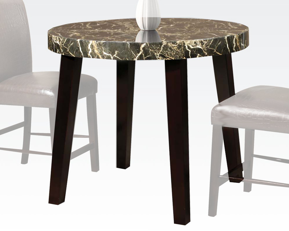 Counter Height Round Pub Table : Acme Round Counter Height Table Adolph AC70120