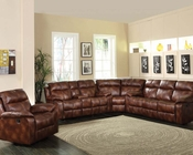 Acme Sectional Sofa in Light Brown Dyson AC50815-SEC