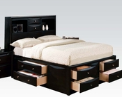 Acme Transitional Bed Manhattan Black AC14110BED