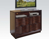 Acme TV Console in Walnut Travell AC20527