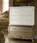 AICO 6 Drawer Chest Base Lavelle in Blanc AI-54070B-04