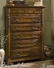 AICO 6 Drawer Chest Sedgewicke in Tudor Brown AI-35070-37