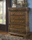 AICO 6 Drawer Chest Sovereign in Soft Mink AI-57070-51