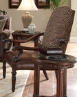 AICO Accent Arm Chair Monte Carlo II AI-53934-CHOCO-46