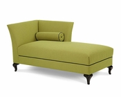 AICO After Eight LAF Chaise in Green AI-19842-GREEN-88