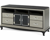AICO After Eight Media Cabinet in Titanium AI-19081-16