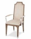 AICO Arm Chair Biscayne West in Haze Finish AI-80004-200 (Set of 2)
