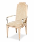 AICO Arm Chair Biscayne West in Sand Finish AI-80004-102 (Set of 2)