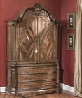 AICO Armoire Windsor Court in Vintage Fruitwood AI-70080TB-54