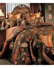 AICO Bedding Set Grand Fleur AI-GRNFLR-BRN