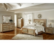AICO Bedroom Set Biscayne West in Sand Color AI-80010-102SET