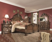 AICO Bedroom Set Windsor Court in Vintage Fruitwood AI-700-54