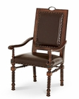 AICO Bella Cera Leather Arm Chair AI-38444-45
