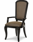 AICO After Eight Arm Chair in Black Onyx AI-19004-88