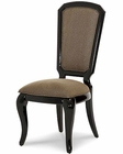 AICO After Eight Side Chair in Black Onyx AI-19003-88