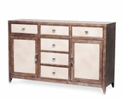 AICO Buffet Biscayne West in Haze Finish AI-80006-200
