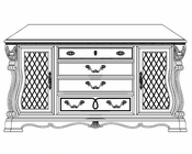 AICO Buffet Sovereign AI-57006-51