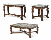 AICO Coffee Table Set Tuscano AI-342-34
