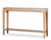 AICO Console Table Biscayne West in Sand Color AI-80223-102