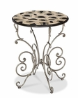 AICO Discoveries Butterfly Accent Table AI-ACF-ACT-CLGN-001