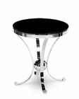 AICO Discoveries Round Glass Accent Table AI-ACF-ACT-VINE-28