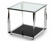 AICO Discoveries Square Glass Accent Table AI-ACF-ACT-CNTR-34